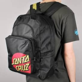 Santa Cruz Classic Dot Backpack - Black