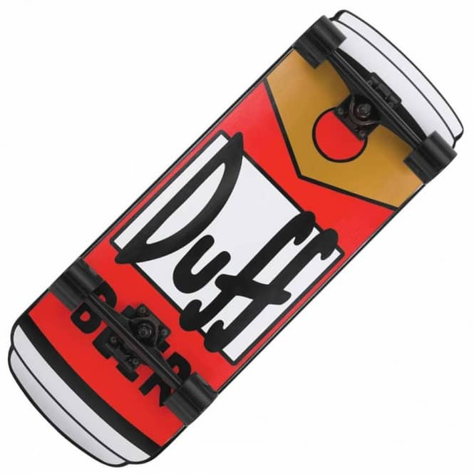 Santa Cruz Skateboards Santa Cruz Simpsons Duff Can Cruzer Complete Skateboard