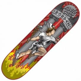 Santa Cruz Skateboards Borden Hermes Skateboard Deck 8.25''