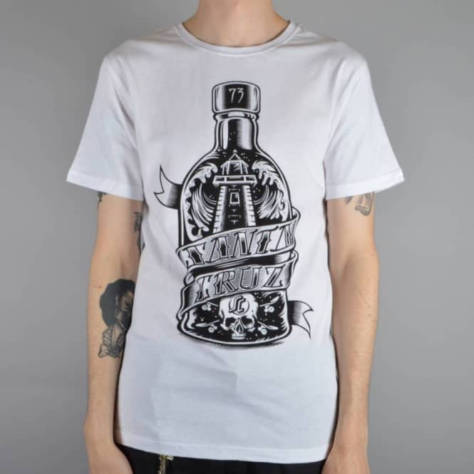 Santa Cruz Skateboards Bottled Skate T-Shirt - White