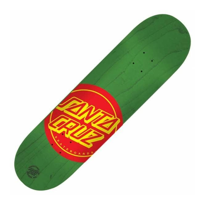 Santa Cruz Skateboards Deuces Green Skateboard Deck 8.125''