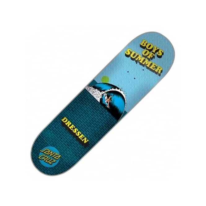 Santa Cruz Skateboards Dressen Boys Of Summer Skateboard Deck 8.0''