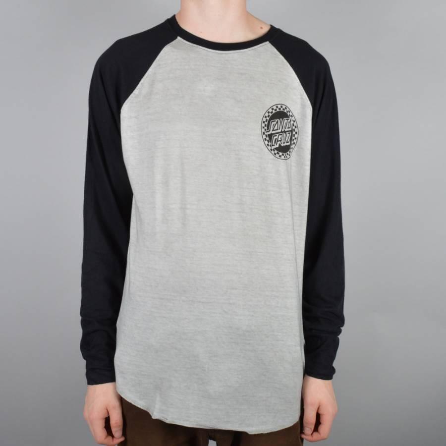 Santa cruz skateboards fast times custom baseball t shirt for Custom baseball tee shirts