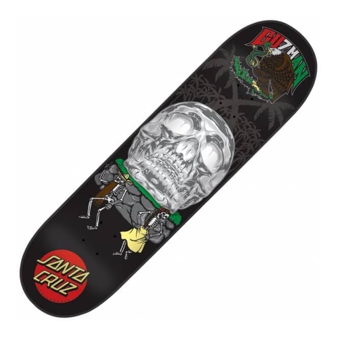 Santa Cruz Skateboards Guzman Dance With Death Skateboard Deck 8.2