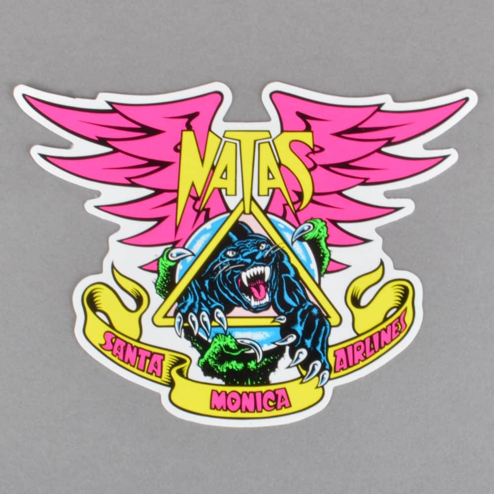 628d09c738 Santa Cruz Skateboards Santa Cruz Skateboards Natas Panther Skateboard  Sticker 3.5
