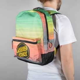 Rasta Fade Backpack - Black/Rasta