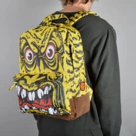 Rob Face Backpack - Yellow