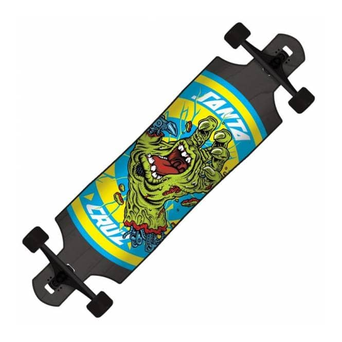 Santa Cruz Skateboards Rob Hand Foot Stop Black Drop Thru Complete Cruzer