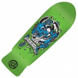 Santa Cruz Skateboards Rob Roskopp Target 4 Green Reissue Skateboard Deck 10.25""