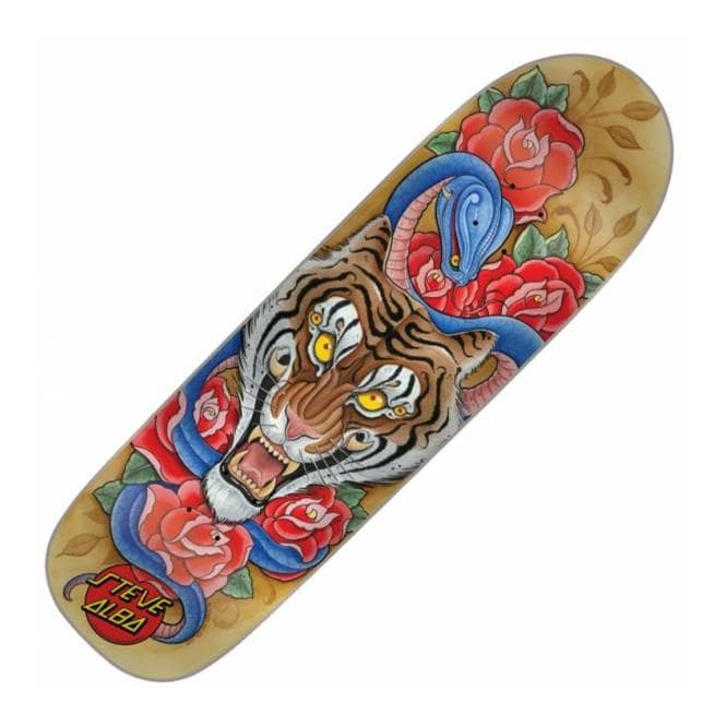 Santa Cruz Skateboards: Dust to Dust - Salba Tiger Deck | ThisNext