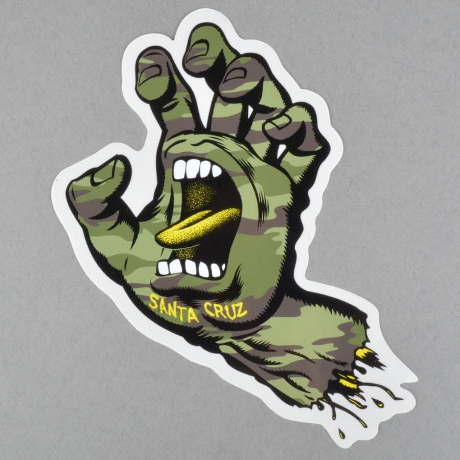 Sticker 5 entry form - Pics Photos Capture1 Draw The Next Santa Cruz Screaming Hand