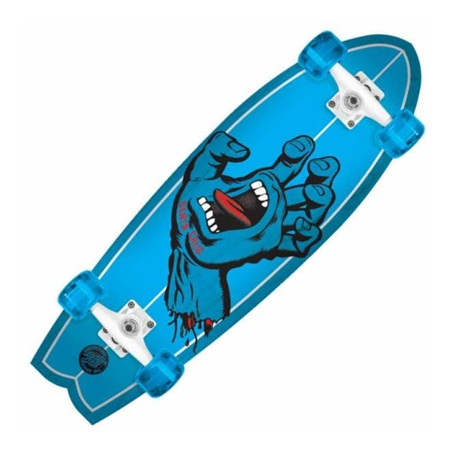 Santa Cruz Skateboards Screaming Hand Shark Complete Cruzer Skateboard