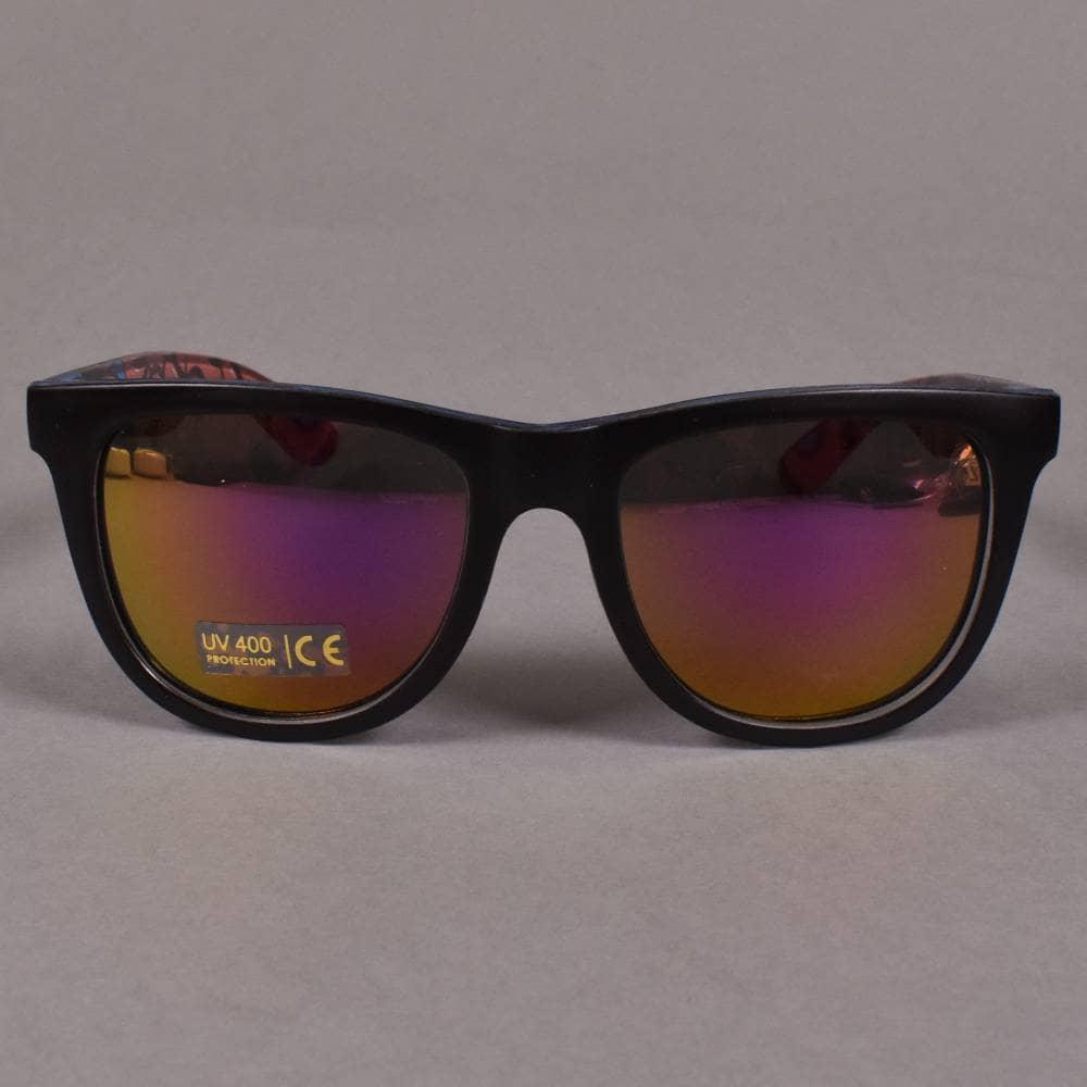 1dfea65d5671 ... Santa Cruz Skateboards Screaming Insider Sunglasses - Black/Blue. Tap  image to zoom. Screaming Insider Sunglasses - Black/Blue