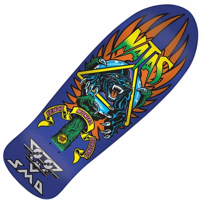 82cb13c9e465 Santa Cruz Skateboards SMA Natas Panther 3 Reissue Skateboard Deck ...