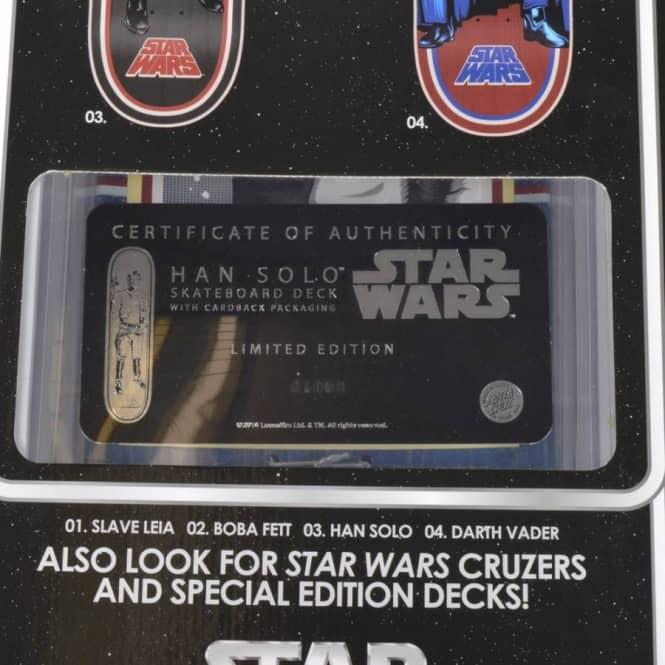 fb50c54292266c Santa Cruz Skateboards Star Wars Han Solo Blister Pack Skateboard ...