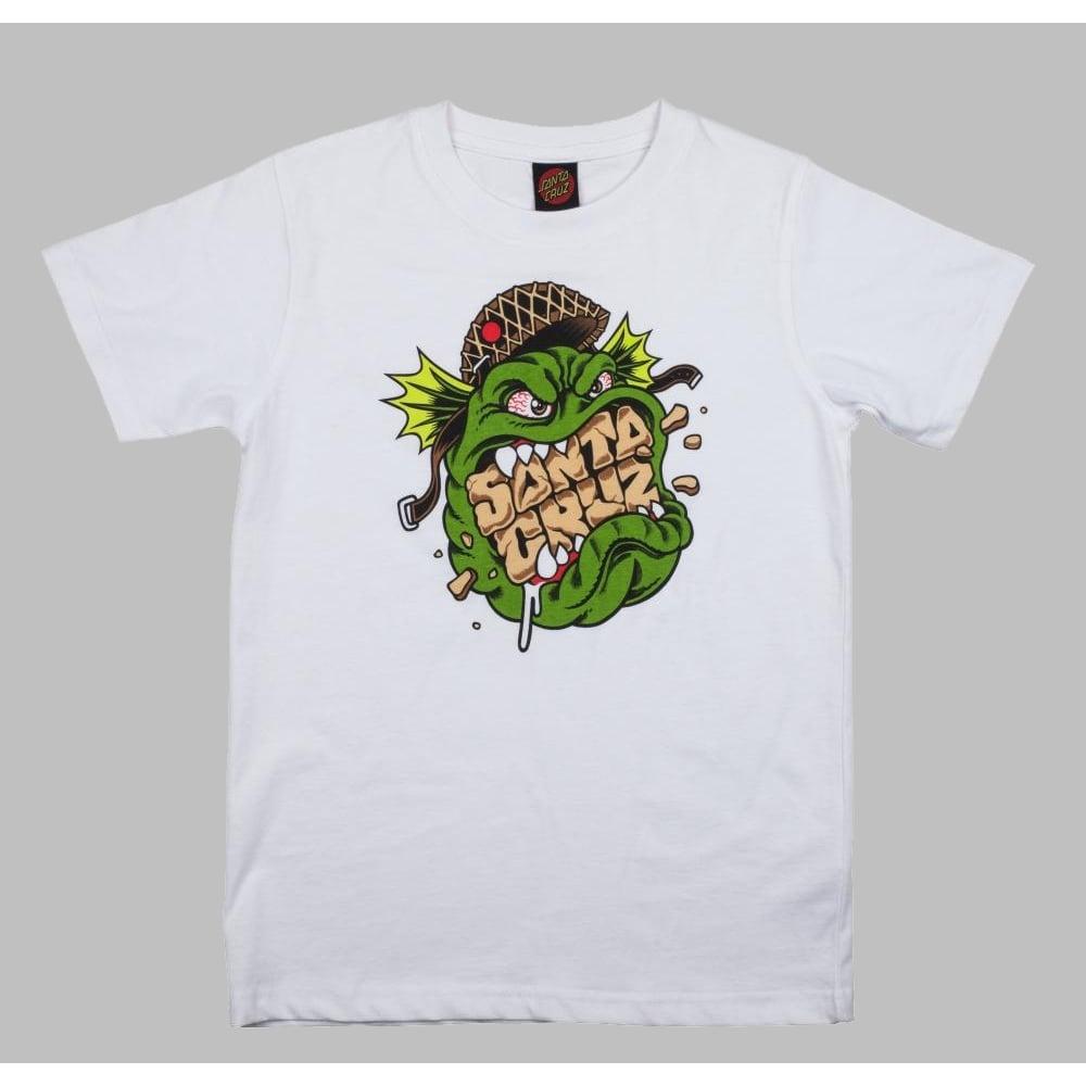 56a72d17a2 Youth Trooper Skate T-Shirt - White