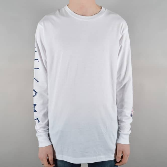 Welcome Skateboards Sapien Longsleeve T-Shirt - White