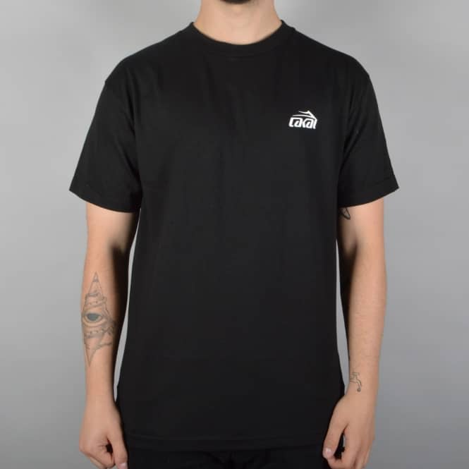 Lakai Scale Skate T-Shirt - Black
