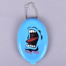 Screaming Coin Pouch - Blue