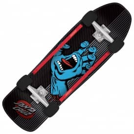 Screaming Hand Metal Stripe Cruzer Complete Skateboard - 9.35