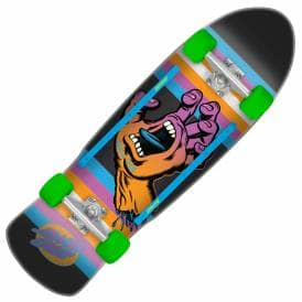 Screaming Hand Neon Age Complete Cruzer Skateboard - 9.42