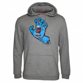 Screaming Hand Youth Pullover Hoodie - Dark Heather