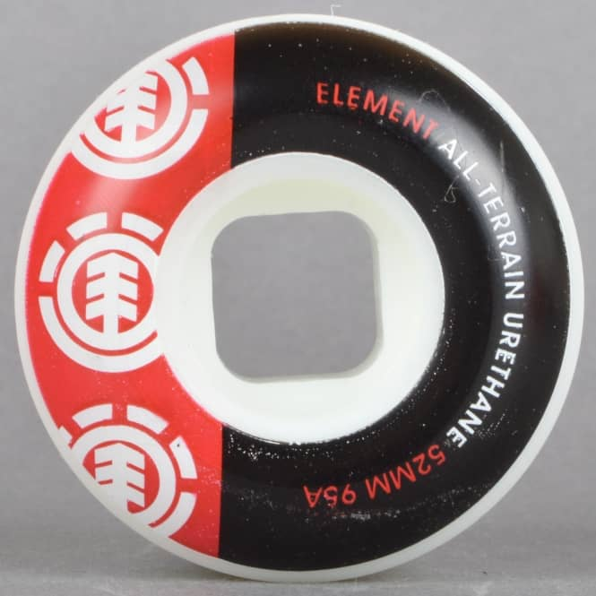 Element Skateboards Section Price Point 95A Skateboard Wheels 52mm