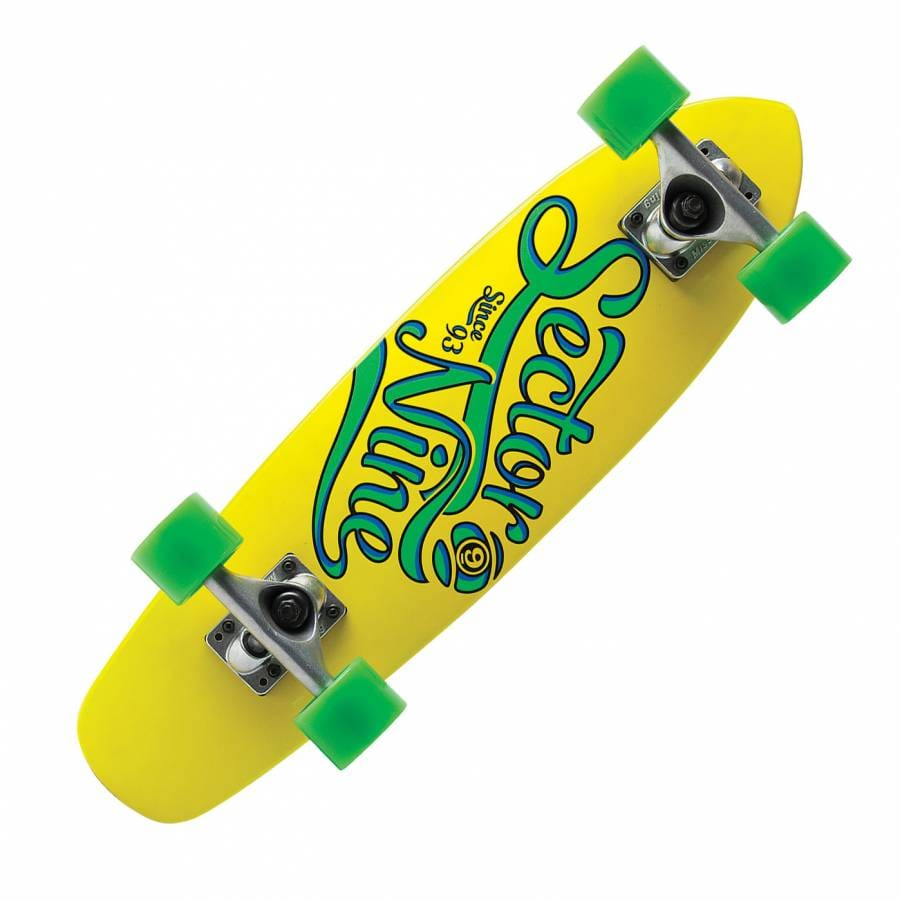 sector 9 longboards sector 9 the steady complete cruiser. Black Bedroom Furniture Sets. Home Design Ideas