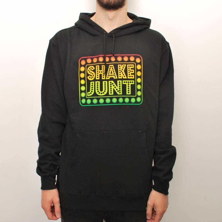 Shake Junt Shake Junt Stencil Pullover Hoodie - Black - Shake Junt