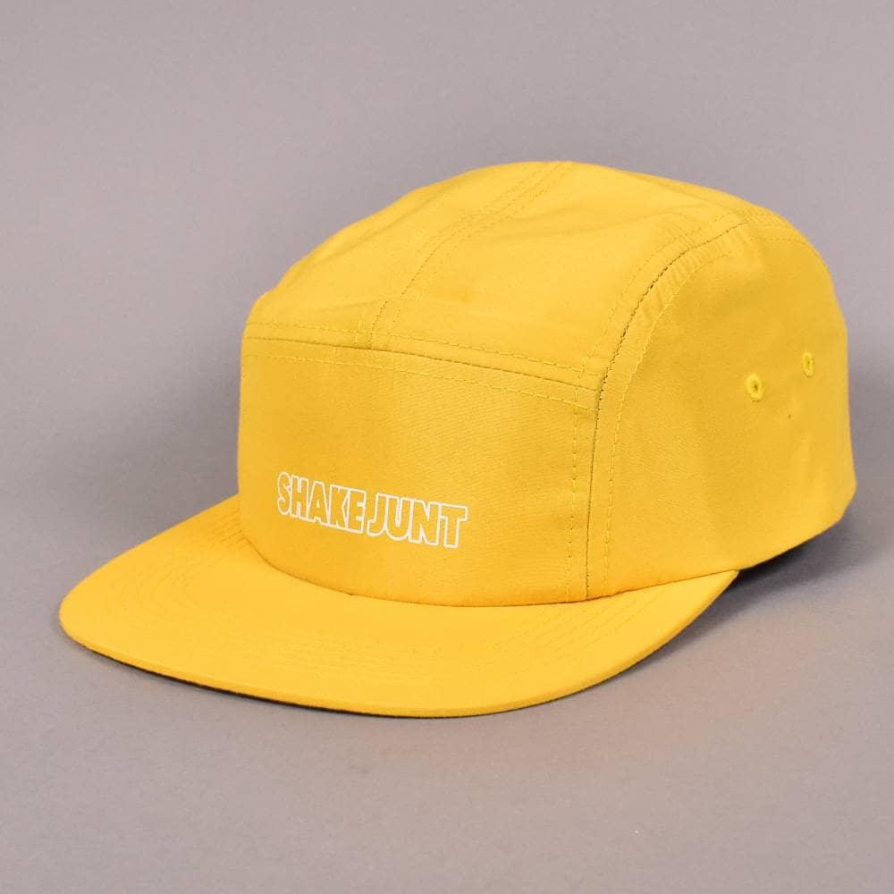 Shake Junt Calico 5 Panel Strapback Cap - Yellow - SKATE CLOTHING ... 7b6b9c26989