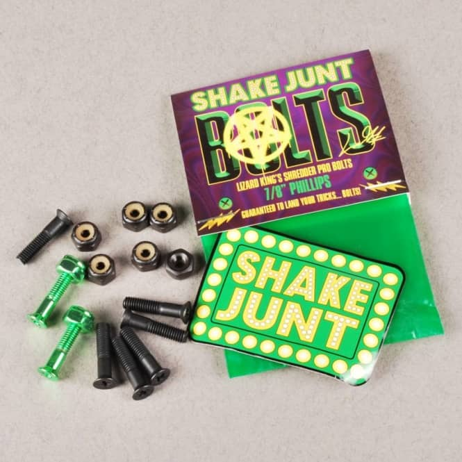 Shake Junt Shake Junt Lizard King Pro Shredder Phillips Truck Bolts 0.78