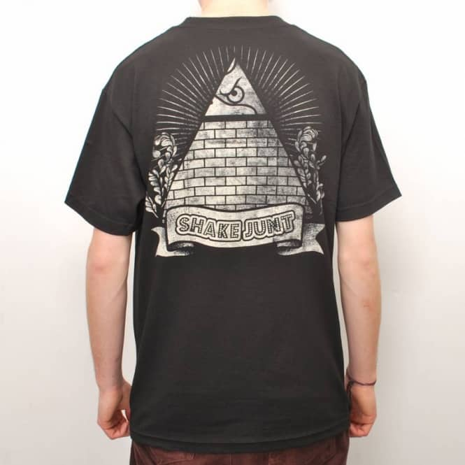 SH Secret Society Skate T-Shirt - Black