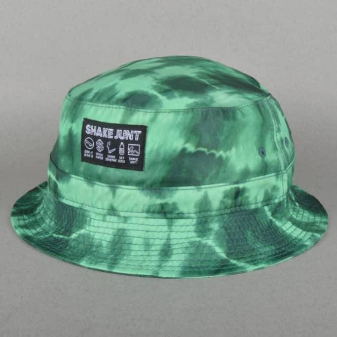 569c72ef043 ... sale shake junt sj classic bucket hat green tie dye rh nativeskatestore  co uk wu tang