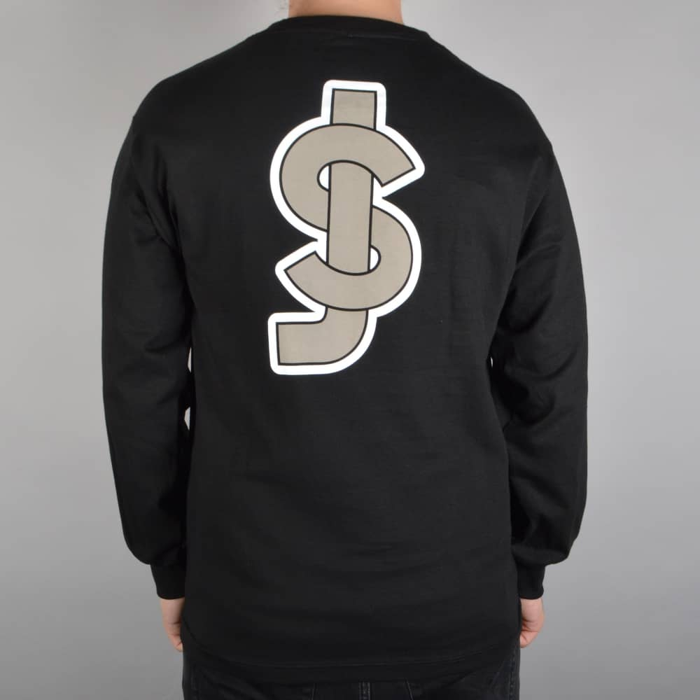 Shake Junt SJ Cool Longsleeve T-Shirt - Black - SKATE CLOTHING ...