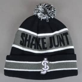 SJ Nation Ball Beanie - Black/Grey
