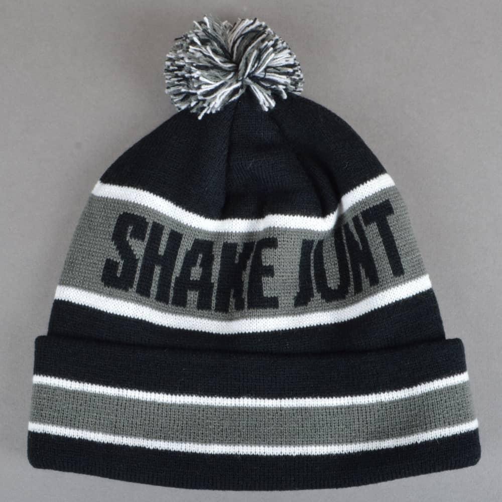 Shake Junt SJ Nation Ball Beanie - Black Grey - SKATE CLOTHING from ... 4017e8a8b70