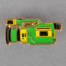 VX1000 Lapel Pin - Green/Yellow