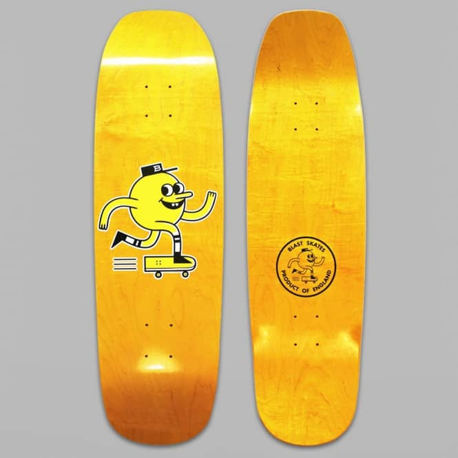 Blast Skateboards Shaped Logo Skateboard Deck 9.0