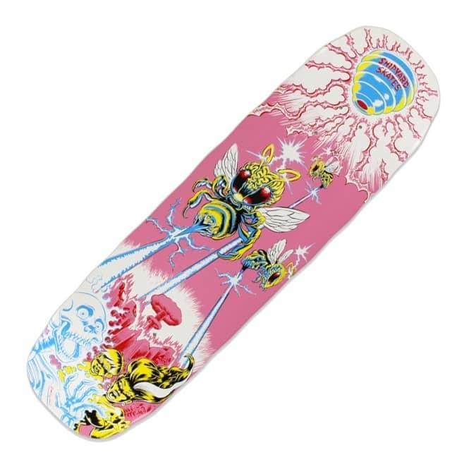 World War Bee Custom Skateboard Deck 8 75