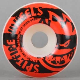Shredded Red 99D Skateboard Wheels 54mm