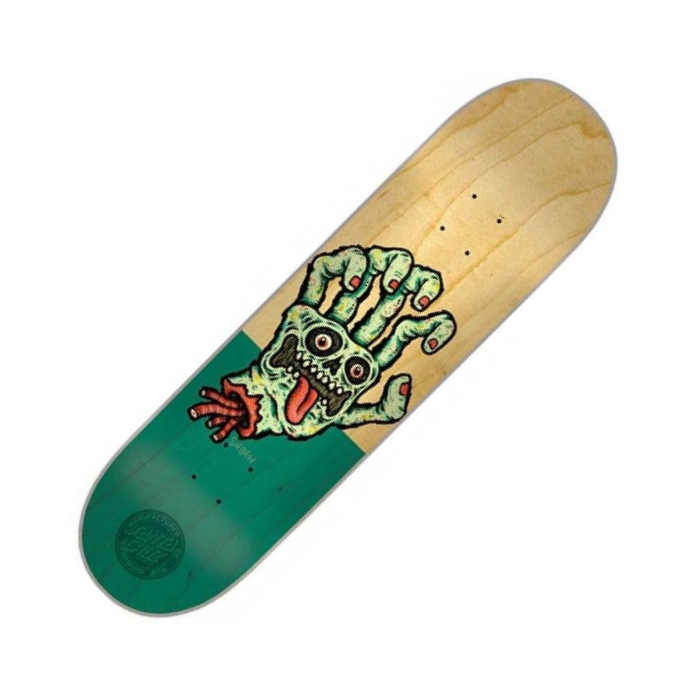 Santa Cruz Skateboards Sieben Hand Skateboard Deck 8 2