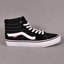 Sk8 Hi Pro Skate Shoes - Black White f0fddbf65