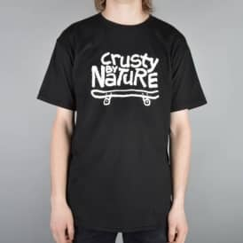 Sk8mafia Wes Kremer Crusty By Nature Skate T-Shirt - Black
