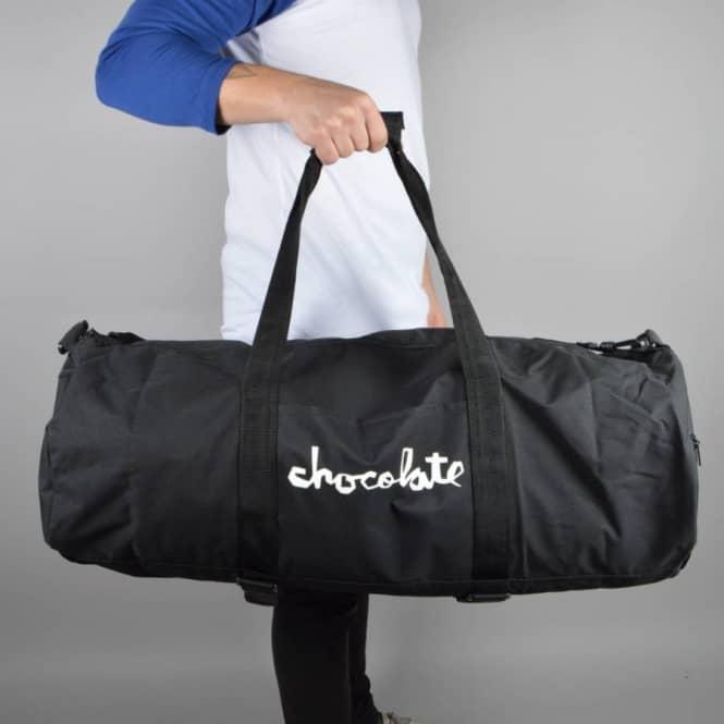 Chocolate Skateboards Skate Carrier Duffle Bag - Black - ACCESSORIES ... cb35b505d2e9a