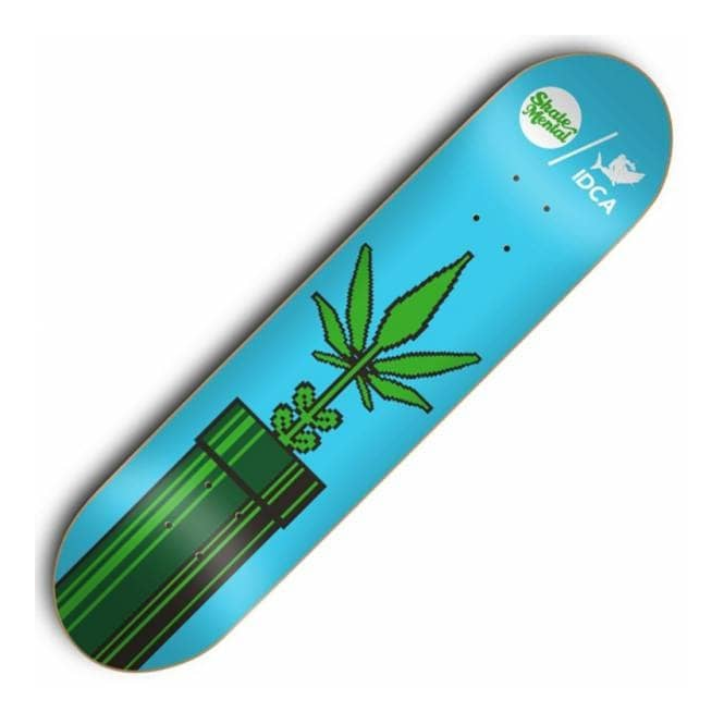 Skate Mental IDCA Pipe Skateboard Deck 8.1''