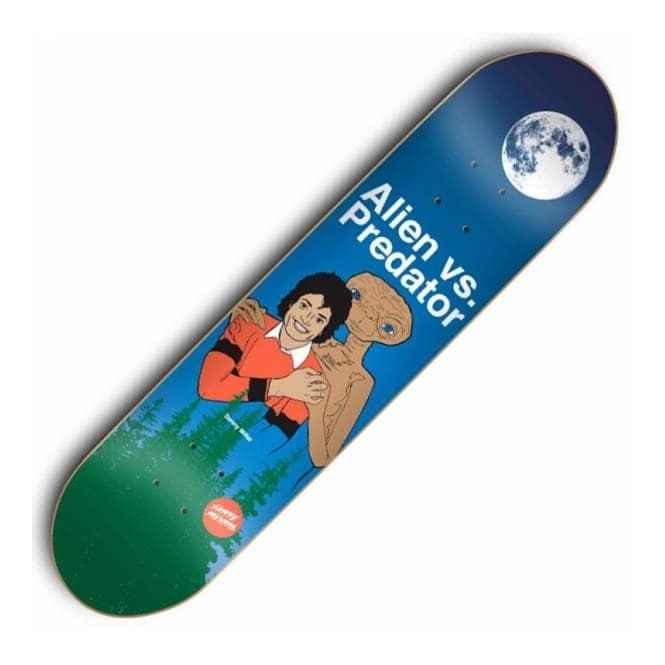 Skate Mental Alien Vs Predator Night Skateboard Deck ...