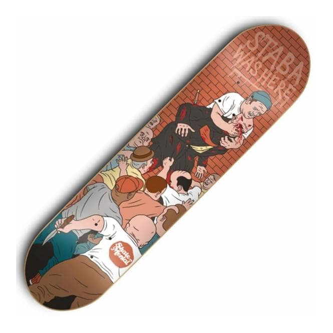 Skate Mental Staba Dwarf Fight Skateboard Deck 8.4''