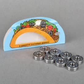 Skate Mental Taco Skateboard Bearings Abec 5