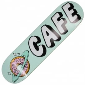 Skateboard Cafe Planet Donut Aqua Skateboard Deck 8.5""