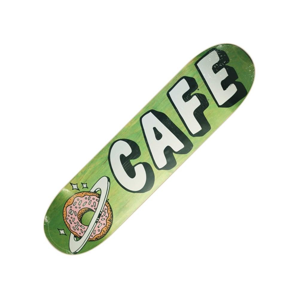 Skateboard Cafe Skateboard Cafe Planet Donut Green Stain Skateboard Deck  8.0